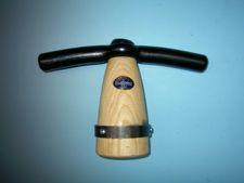 Tegelklopper De WIT met houten klos