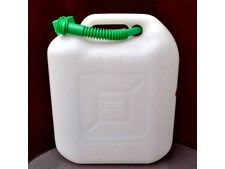JERRYCAN 20 LTR.TRANSPARANT