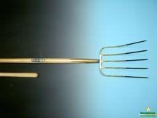Mestvork OFF.5tands brons+knopstl 135cm