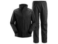 Set Regenkleding Zwart maat XL