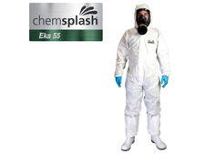 CHEMSPLASH EKA55 OVERALL M-3XL WIT
