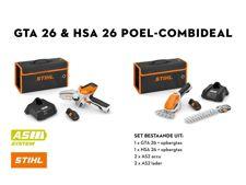 GTA 26 + HSA 26 COMBI SET